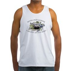 Without coffee... Tank Top