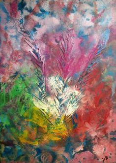 Dino Buchmann, Blume abstrakt, 2016, Acryl auf Leinwand, BxH 30x40 cm on ArtStack #dino-buchmann #art Crafting, Artist, Painting, Inspiration, Ideas, Abstract, Canvas, Florals, Photo Illustration