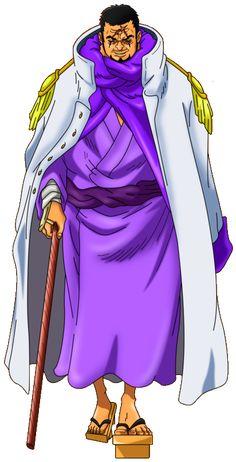 Fujitora Issho by AlexelZ on DeviantArt One Piece Fanart, One Piece Anime, Anime One, One Piece Deviantart, One Piece Chapter, One Piece Luffy, Body Drawing, Manga Games, Anime Characters