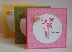 Great set of thank you cards or whatever cards...