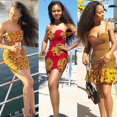 is such a Barbie!She sure knows how to work her Ankara dresses! I love her Style? is such a Barbie!She sure knows how to work her Ankara dresses! I love her Style? African Fashion Ankara, Latest African Fashion Dresses, African Print Dresses, African Print Fashion, Africa Fashion, African Dress Styles, African Attire, African Wear, African Women