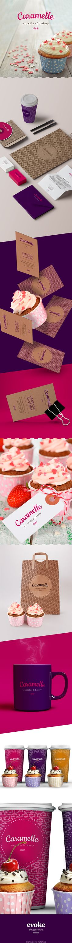 Caramelle - Cupcakes & Bakery on Behance