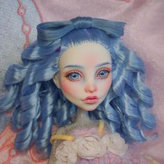 #monsterhigh #doll #repaint #ooakdoll #ooak #dollrepaint #mh #monsterhighdolls #makeupdolls #artdoll #faceup