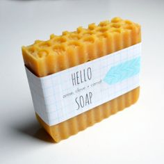 Anise Clove Carrot Handcrafted Soap 5 oz honey by hellosoap