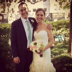 Congrats to Mr and Mrs Falabella!  #bpluspmeanttobe