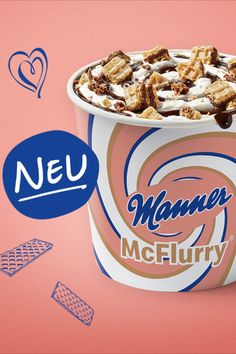 Mc Flurry, Mcdonalds, Manners, Cooking Tips, Food And Drink, Ice Cream, Breakfast, Desserts, Marketing