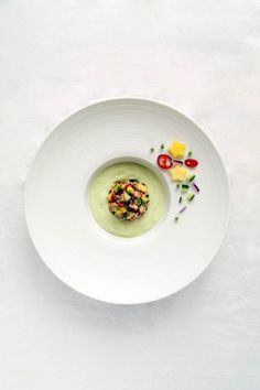 …in 4 Gängen: Lachs | Avocado | Buttermilch