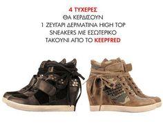 Αρχικη KEEPFRED Elle Fashion, Ipad Mini, High Tops, High Top Sneakers, Bb, Wedges, Beauty, Shoes, Zapatos