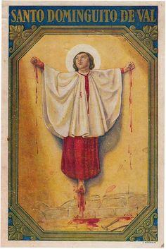 who was Santo Dominguito De Val?