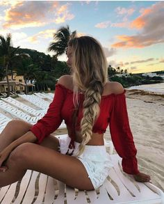 Ponytail braids for summer hairstyle