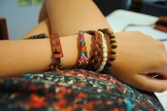 Summer bracelets that match everything