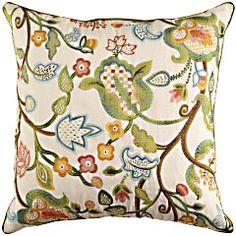Pier One Decorative Pillows Decorative Pillows Pier One  Pier 1 Imports Multi Ribbon Pillow