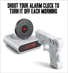 Maybe I'll finally respect the alarm clock this way.