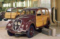 Restored 1948 Peugeot 'Canadien'