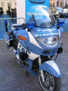 BMW S1000RR police bike