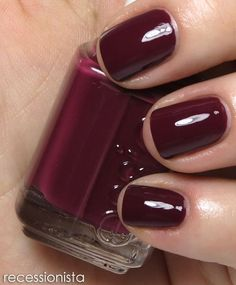 Todays pedi brought to you by Essies Recessonista from their Stylenomics Collection Fall 2012
