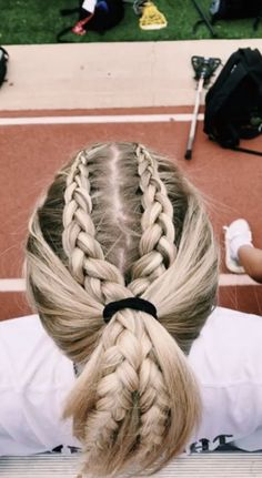 hairstyles half up to easy braided hairstyles braid hairstyles to cute braided hairstyles hairstyles man bun hairstyles hairstyles prom braided hairstyles for black hair Cute Hairstyles, Braided Hairstyles, Track Hairstyles, Princess Hairstyles, Wedding Hairstyles, Bandana Hairstyles, Updo Hairstyle, Hairdos, Game Day Hair