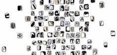 Black Mosaic wallpaper from Signature Collection. www.patternation.co.uk