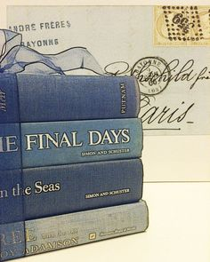 Decorative BookVintageDecorating by beachbabyblues on Etsy