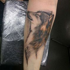 0d9758ab694d2 28 Best Wolf Tattoos images in 2017 | Wolf tattoos, Tattoo ideas, Wolves