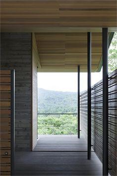 House at Asamayama - #Nagano, #Japan - 2011 - Hirotaka Kidosaki #architecture #landscape