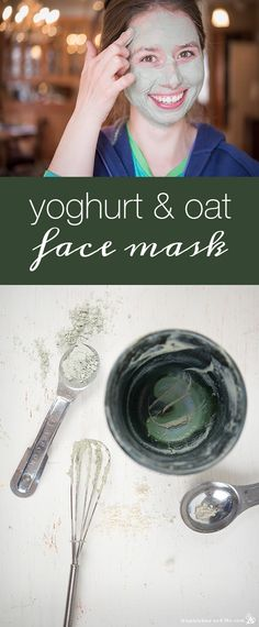 How to Make a Yogurt Oat Face Mask