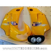 Honda Aftermarket Top and Side Fairing Kit with Headlight