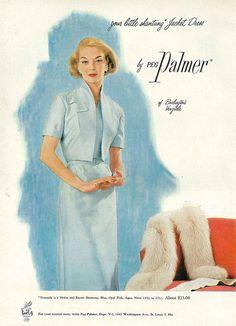 March Vogue 1956  jean