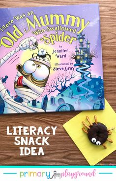Literacy Snack Idea Mummy