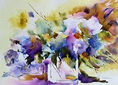 Painting,  25 x 35 cm ©2013 by Véronique Piaser-Moyen }}