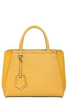 Fendi Mini 2jours Structured Leather Bag ($1,900)