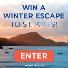 Escape the winter blues! We've partnered with AFAR, ShopBAZAAR and abc carpet & home to bring you the chance to escape to the beaches of St. Kitts, as well as shopping sprees for all your home and island essentials. Enter at tastingtable.com/stkitts2014.