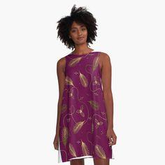 Christmas Dress Women, Christmas Eve, Xmas, Holiday, Botanical Drawings, I Dress, Designer Dresses, Cold Shoulder Dress, Casual