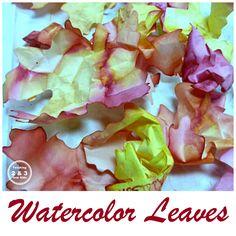 Fall Watercolor Art