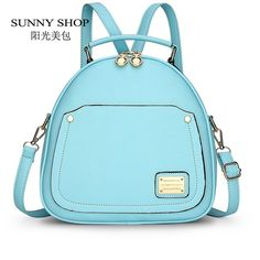 Good price SUNNY SHOP Candy Color Spring Small Women Backpacks School Bags For Backpacks For Teenage Girls Fashion Leather Backpack Bagpack just only $24.45 with free shipping worldwide  #womanbackpacks Plese click on picture to see our special price for you