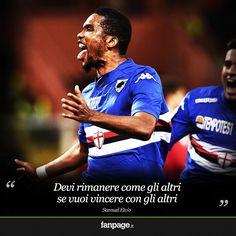 Samuel #Etoo #Sampdoria
