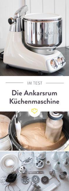 Die Ankarsrum ist ein echter Designklassiker aus Schweden. Aber kann sich die Küchenmaschine auch im Praxistest behaupten? Hier gibt's das Testergebnis.