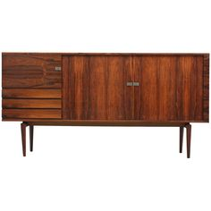 Danish Rosewood Cabinet by H.W. Klein