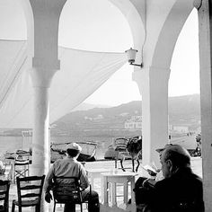 Port of Mykonos harking back to the swinging '60s photo, Dimitris Papadimos. A  rite of passage, the island where you used to let your hair down and go crazy… you all did that while young staying with you for a lifetime.