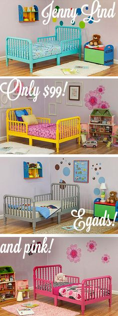 Beautiful toddler Bed for Two  Concept