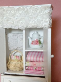 Dollhouse Miniature OOAK Shabby Cottage by miniaturerosegarden, $49.00