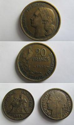 Франция 1,5,10 и 20 франков ...  #metal detecting #finds  #history  #tools #diy #hunting #coins #locations #treasures