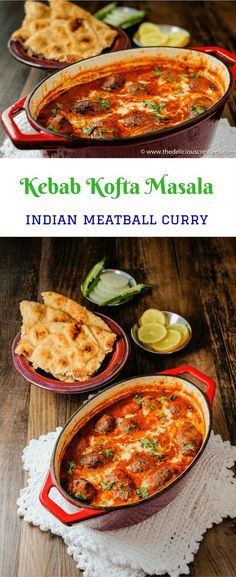 Kebab Kofta Masala is a delicious Indian dish of succulent grilled or broiled meatballs in a rich, creamy and spicy gravy. The gravy here is much lighter than traditional recipes, while retaining its creamy consistency and taste. #Indianfood #kofta #kebab #curry #beef via @TDCrescent