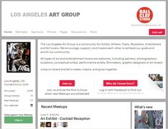 The Los Angeles Art Group is a community for Artists, Writers, Poets, Musicians, Entertainers and Art lovers. We encourage, support, and inspire each other to achieve our goals and enrich our community.  All types of art and entertainment lovers are welcome, including painters, photographers, sculptors, conceptual artists, performance artists, filmmakers, graphic designers or art lovers!