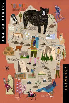 Yosemite Park for Kit Hinrichs Studio – Martin Haake Illustrations