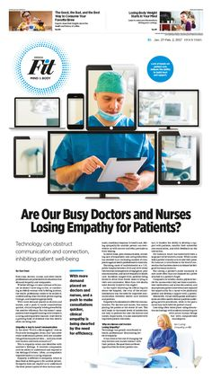 Are Our Busy Doctors and Nurses Losing Empathy for Patients?|Epoch Times #Health #newspaper #editorialdesign