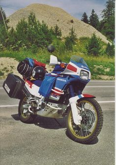 Famous bikes of the seventies and eightes - Honda Africa Twin