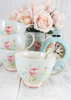 Just arrived… new GreenGate summer 2016 collection - Marie Teacup - Shabby Art Boutique