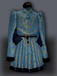 burgundian gown