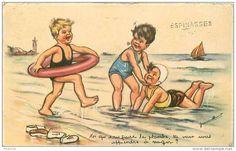 Toi qui sait faire la planche, tu veux nous apprendre à nager ?